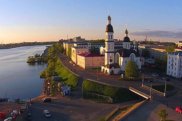 Тест про Архангельск