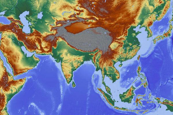 Тест на столицы стран Азии