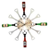 Часы настенные «Пивные открывашки»