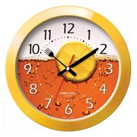 Часы настенные «Troyka», цвет: желтый