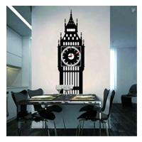 Настенные декоративные часы-стикеры «Big Ben»