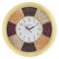 Часы настенные «Troyka», золотистые