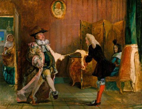 Тест по комедии «Мещанин во дворянстве»