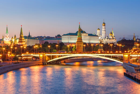 Тест про Москву