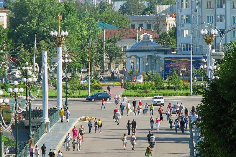 Жители городов России