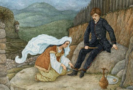 Тест по поэме «Кавказский пленник»
