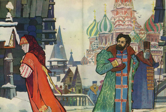 Тест по поэме «Песня про царя Ивана Васильевича»