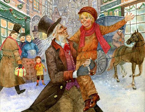 Тест по повести «Рождественские истории»