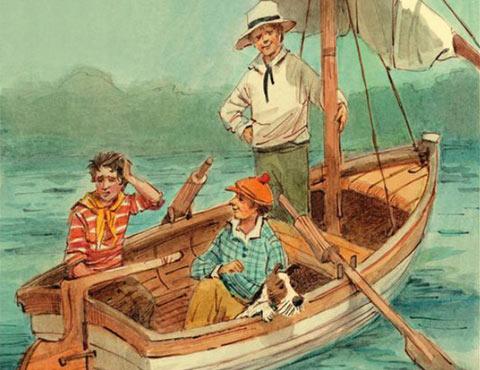 Тест по повести «Трое в лодке, не считая собаки»