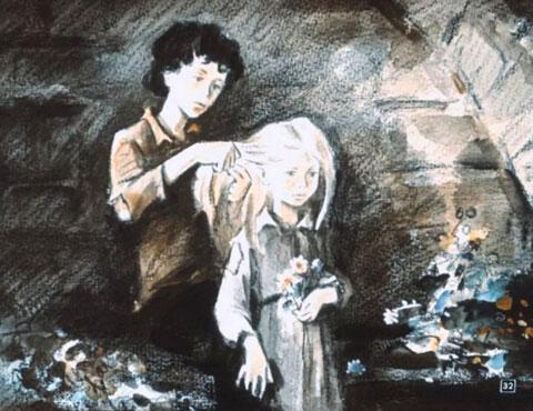 Тест по рассказу «Дети подземелья»