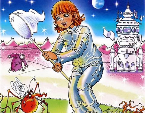 Тест по рассказу «Девочка с Земли»