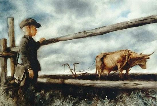 Тест по рассказу «Корова»