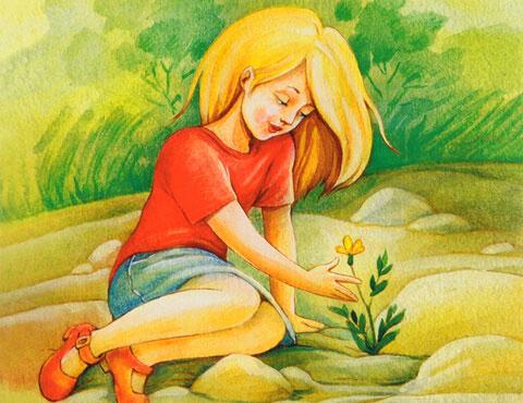 Тест по рассказу «Неизвестный цветок»
