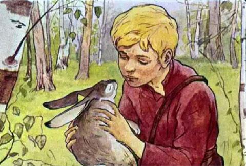 Тест по рассказу «Заячьи лапы»