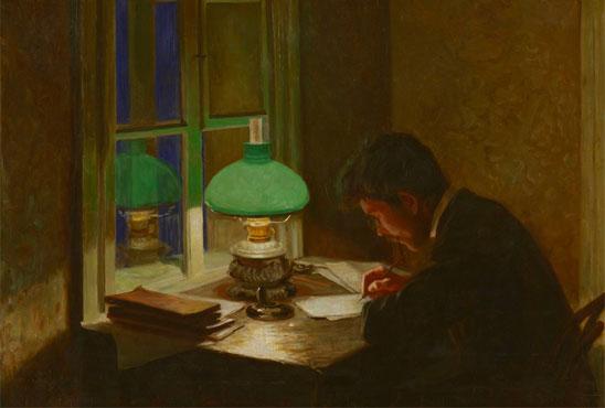 Тест по рассказу «Зеленая лампа»