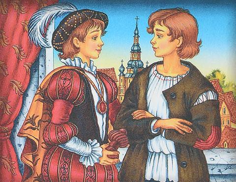 Тест по роману «Принц и нищий»