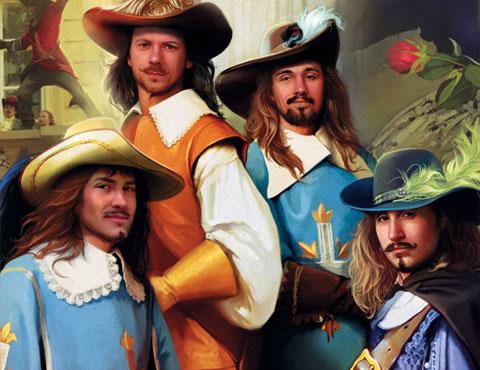 Тест по роману «Три мушкетера»