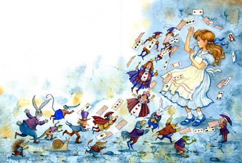 Тест по сказке «Алиса в Стране чудес»