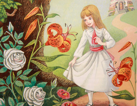 Тест по сказке «Алиса в Зазеркалье»