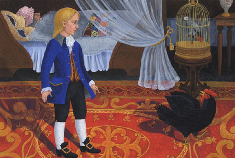 Тест по сказке «Черная курица, или Подземные жители»