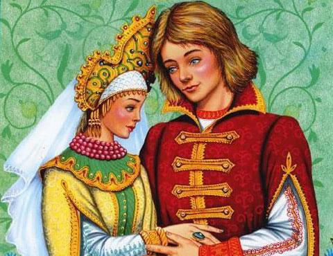 Тест по сказке «Марья Моревна»