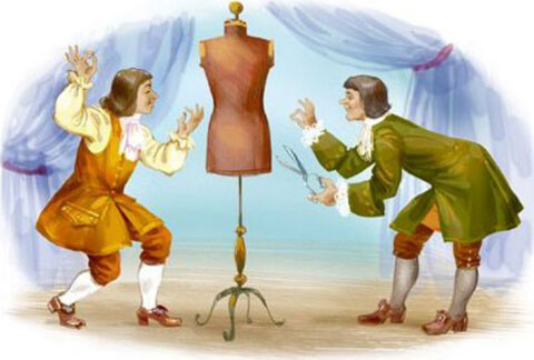 Тест по сказке «Новое платье короля»