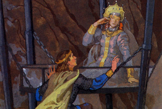 Тест по сказке о мертвой царевне и о семи богатырях
