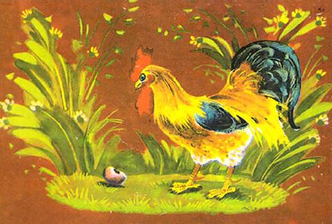 Тест по сказке «Петушок и бобовое зернышко»