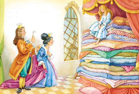 Тест по сказке «Принцесса на горошине»