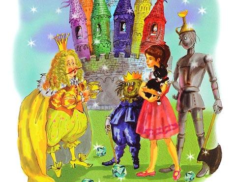 Тест по сказке «Семь подземных королей»