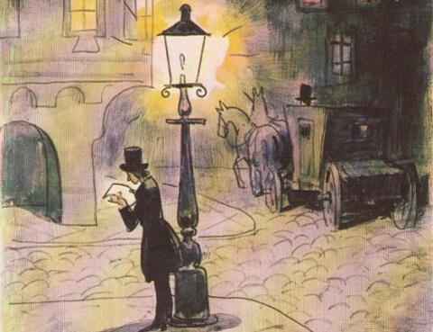 Тест по сказке «Старый уличный фонарь»