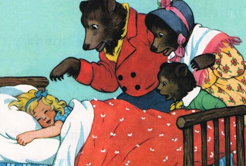Тест по сказке «Три медведя»