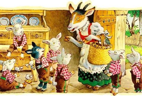 Тест по сказке «Волк и семеро козлят»