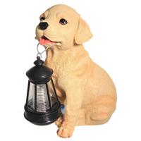 Декоративный светильник Счастливый дачник «Лабрадор», на солнечной батарее
