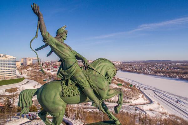 Тест о городе Уфа
